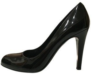Bally Patent Leather Heels Louboutin Black Pumps