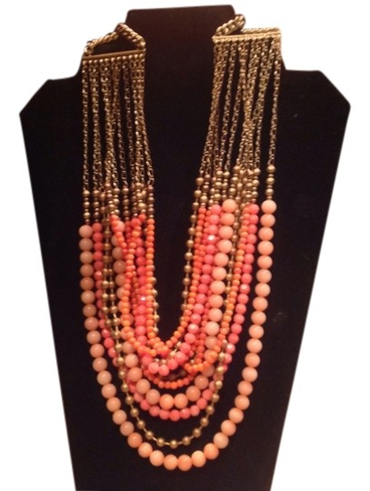 Preload https://item2.tradesy.com/images/coral-and-gold-palomino-necklace-1640386-0-0.jpg?width=440&height=440