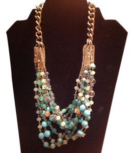 Stella & Dot Turquoise Maldives Necklace
