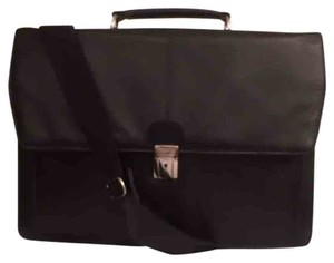 Kenneth Cole Leather Laptop Briefcase Men's Computer Laptop Bag