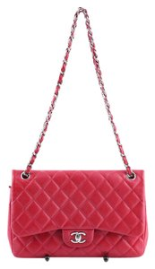 Chanel Quilted Leather Cross Body Bag