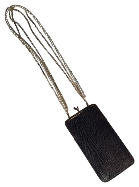 Dsquared2 Black and Gold Clutch Tech Accessory Dsquared2 Black and Gold Clutch Tech Accessory Image 1
