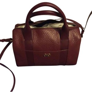 Cole Haan Satchel in Maroon