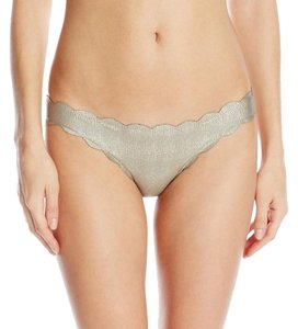 PilyQ Oro Reversible Seamless Wave Full Coverage Bikini Bottom