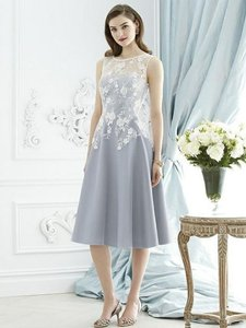 Dessy Platinum With Starlight Embroidery 2947 Dress