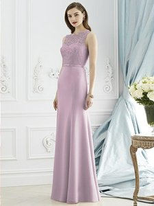 Dessy Suede Rose Pink 2945 Dress