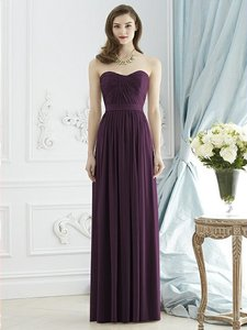 Dessy Aubergine Purple 2943 Dress