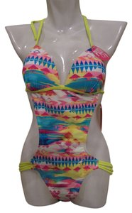 Gossip New With Tags Gossip One Piece Monokini Multi Color Swimsuit Size M