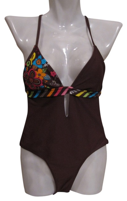 OP New Without Tags OP Brown One Piece Swimsuit Size XS