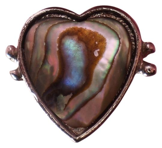 Other Like new abalone heart ring
