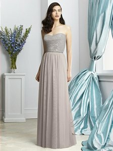 Dessy Taupe 2925 Dress
