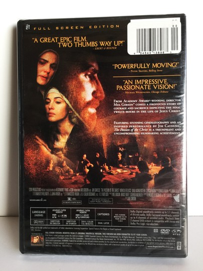 """Other DVD """"The Passion Of The Christ"""" [ MissSundayBest ]"""