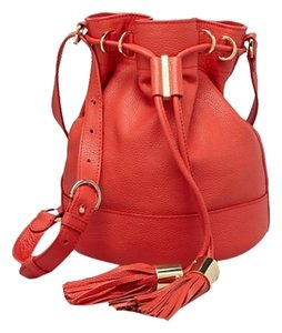 See by Chloé Vicki Bucket Leather Tassels New Shoulder Bag