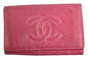 Chanel Caviar Leather Six Ring Key Holder CHML2