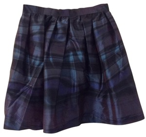 Walter by Walter Baker Mini Skirt Purple black