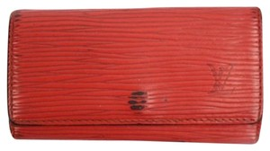 Louis Vuitton Red Epi Key Holder 23LVA606 LVJY23