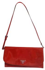 Prada Clutch Holiday Wristlet in Red
