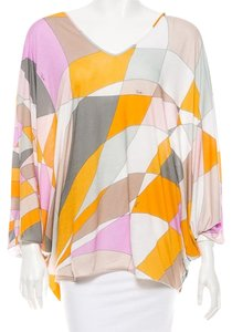 Emilio Pucci Abstract Print Tunic
