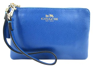 Coach Wristlet in Bright Mineral (Blue)