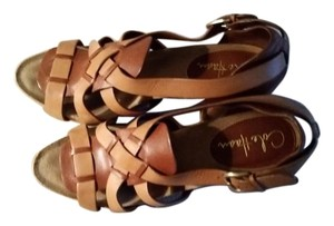 Cole Haan brown/beige Sandals