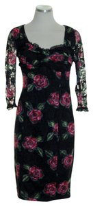 Charlotte Russe Lace Floral Sheath Dress