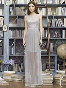 Lela Rose Oyster And Taupe Lr223 Dress