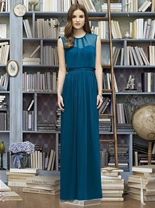 Lela Rose Ocean Blue Lr222 Dress