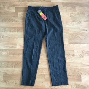Tory Burch Straight Pants Black(Looks Navy in Pics, But its Solid Black)