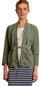 Anthropologie Breathable Comfy Green Jacket