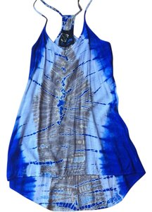 Blue Life short dress Tie dye on Tradesy