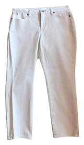 Talbots Straight Leg Jeans-Light Wash