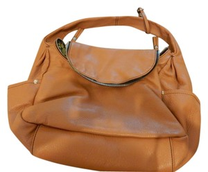 orYANY Tan Leather Side Pockets Soft Shoulder Bag