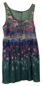 Timo Weiland short dress Floral on Tradesy