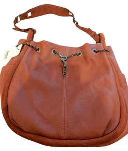 Aimee Kestenberg Snake Chain Ds Leather Suede Edgy Comfortable Shoulder Bag