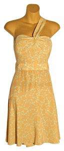 WAYF short dress Orange and Teal One on Tradesy