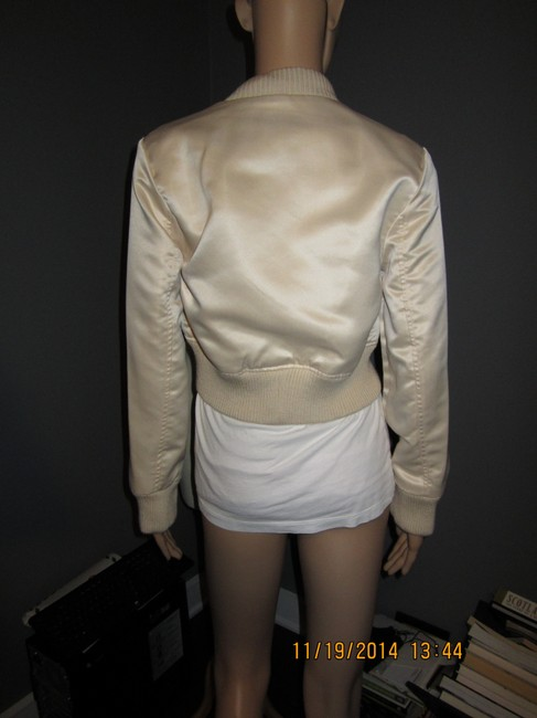 Other Silky Cropped Cool Cream Jacket
