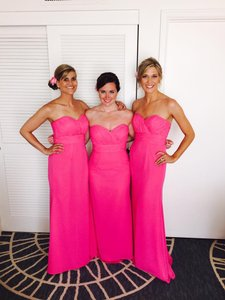 Mori Lee Fuchsia Bridesmaid Dress 715 Dress
