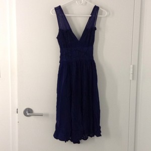 Tracy Reese Navy Dress