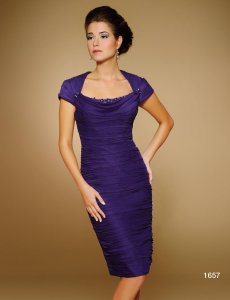 Rina DiMontella Amethyst 1657 (928-32) Dress