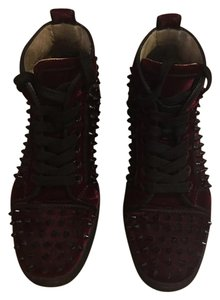 Christian Louboutin Dark burgundy Athletic