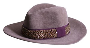 Etro Etro brown beaded fedora
