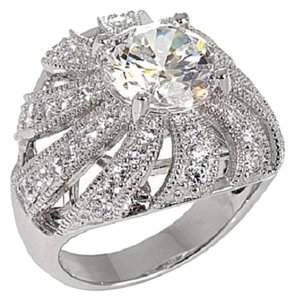 Victoria Wieck Victoria Wieck 3.89ct Absolute Round and Pave'