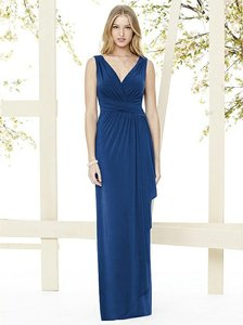 Social Bridesmaids Estate Blue 8146 Dress