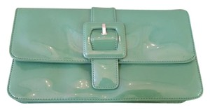 Ann Taylor LOFT Date Night Night Out Green Clutch