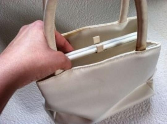 Natural White Bridal Handbag