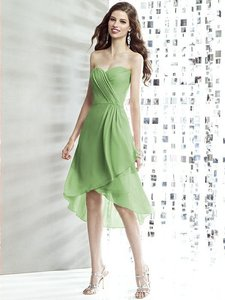 Social Bridesmaids Apple Slice Green 8138 Dress