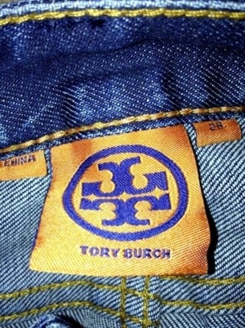 Tory Burch Tb Skinny Jeans-Medium Wash