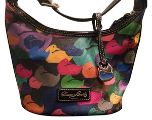 Dooney & Bourke Burke Purse Satchel in Multi Color