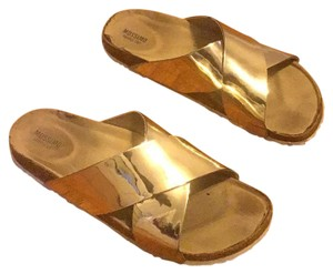 Mossimo Supply Co. Gold Sandals