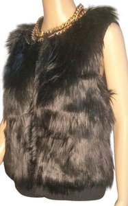 Michael Kors Ladies Size Large Fur Vest